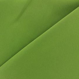 Tissu Burling - vert tilleul x 10cm