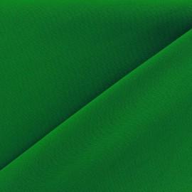 Tissu Burling - vert x 10cm