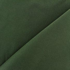 Tissu Burling - vert militaire x 10cm