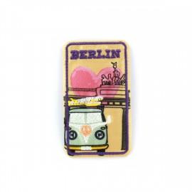 Love Town Iron on badge - Roma