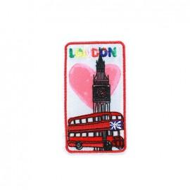 Love Town Iron on badge - London