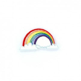 Weather Iron on - rainbow