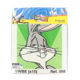 Canvas Kit Looney Tunes Mediums holes  - Bugs bunny
