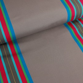 Deckchair canvas fabric Levant (43cm) - taupe x 10cm