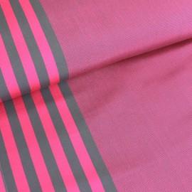 Deckchair canvas fabric Cassis (43cm) - fuchsia x 10cm