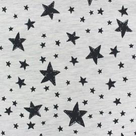 Fabric Jogging Stars - ecru x 10cm