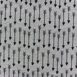 Fabric Jogging Arrow - grey x 10cm