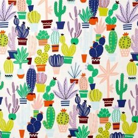 Cotton fabric Agave - multi x 31cm