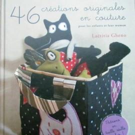 """Livre """"46 créations originales en couture"""""""