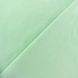 Tissu Gabardine Lycra mat v.2 - vert d'eau x 10cm