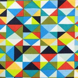 Tissu jogging Poppy Gorgeous Graphics - vert x 10cm
