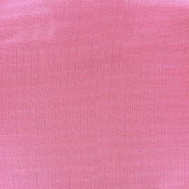 Tissu double gaze de coton Solid Hotpink x 10 cm