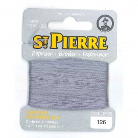 Laine Saint Pierre 40 M card Darning / embroidery - 126 Dust