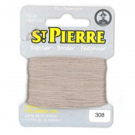 Laine Saint Pierre 40 M card Darning / embroidery - 308 Bis