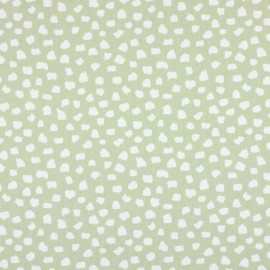 Varnished and coated cotton fabric Dita - linen  x 10cm
