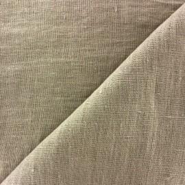 Tissu lin lavé Thevenon - lin x 10cm