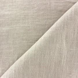 Tissu lin lavé Thevenon - brouillard x 10cm