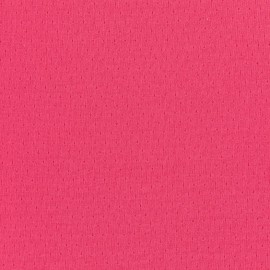 Tissu jersey ajouré France Duval - pivoine x 10cm
