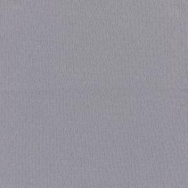 Tissu jersey ajouré France Duval - gris x 10cm