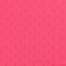 Tissu plumetis France Duval - pivoine x 10cm