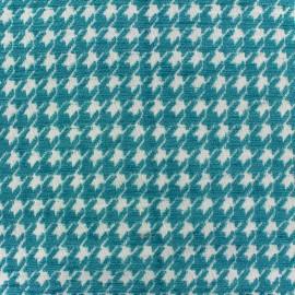 Jacquard fabric Boston - azure x 10cm