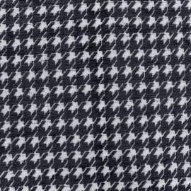 Jacquard fabric Boston - navy x 10cm