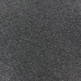 Tissu jersey matelassé losanges 10/20 - gris anthracite chiné x 10cm