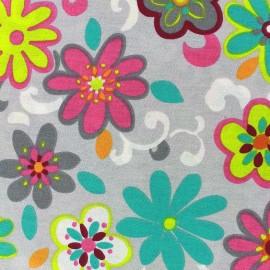 Coated cotton fabric Xia - pearl x 20cm