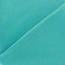 Tissu piqué de coton satiné - azur x 10cm