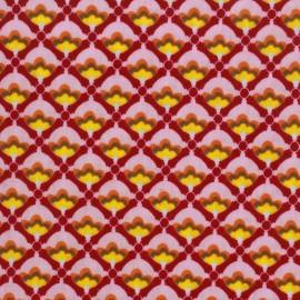 Coated cotton fabric Poppy Mango Bango Litchi - pink x 10cm