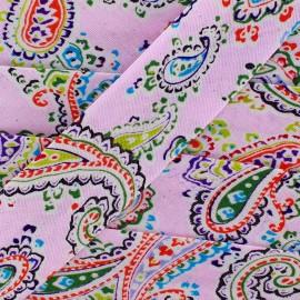 Bias Paisley - pink x 1m