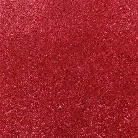 Simili cuir Caviar - rouge x 10cm
