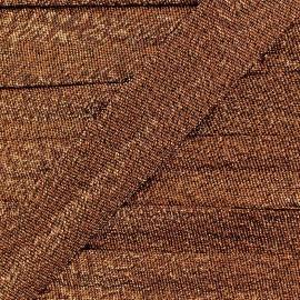 Lurex bias binding - antic copper x 1m
