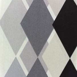 Cretonne cotton fabric Sock (280cm) - black x 15cm
