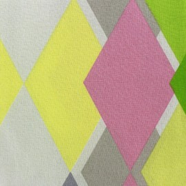 Cretonne cotton fabric Sock (280cm) - pink x 15cm