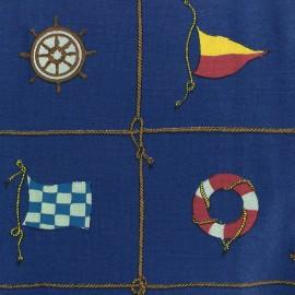 Canvas fabric Velero - navy blue x 63cm