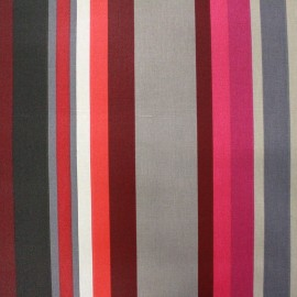 Coated cotton fabric Arnaga - red x 10cm