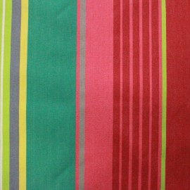 Coated cotton fabric Canarias - grenadine x 10cm