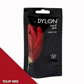 Dylon fabric dye for hand use - tulip red