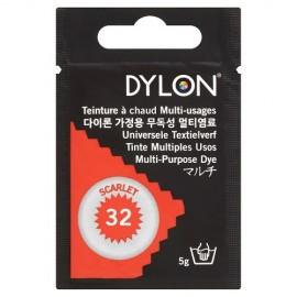 Dylon multi-purpose dye - scarlet