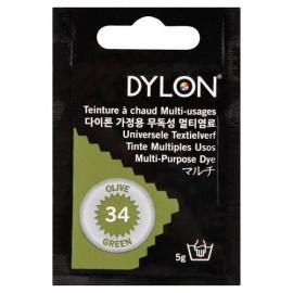 Dylon multi-purpose dye - olive green