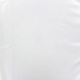Openwork Jersey Fabric France duval - white x 10cm