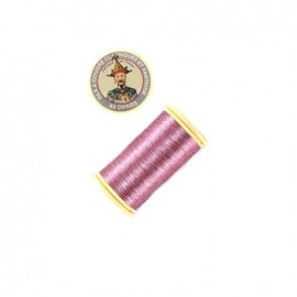 Au Chinois polyester metallized sewing thread  - pink