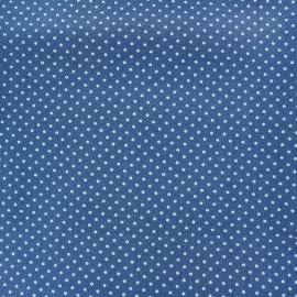 Cotton Fabric pois 2mm - light blue/horizon x 10cm