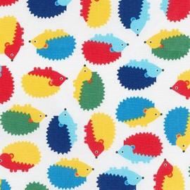 Woodland Pals 2 fabric Hedgehog - primary x 10cm