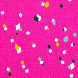 Tissu coton Dashwood Cotton Candy Remix - fuchsia x 10cm