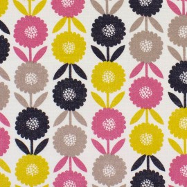 Tissu coton Dashwood Bloom Pretty blossom - multi x 10cm