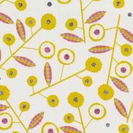 Tissu coton Dashwood Bloom Meadow - blanc x 10cm