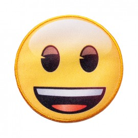 Thermocollant toile Emoji™ -  Je suis heureux !