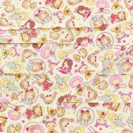 Biais Sweet Dolls - rose x 1m